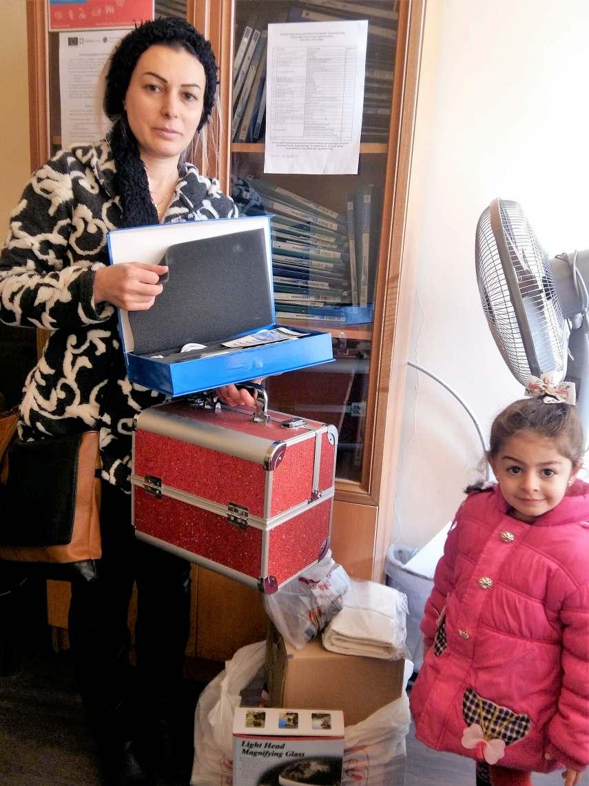 Помощь семьям сирийских армян, оказавшихся в чрезвычайной ситуации