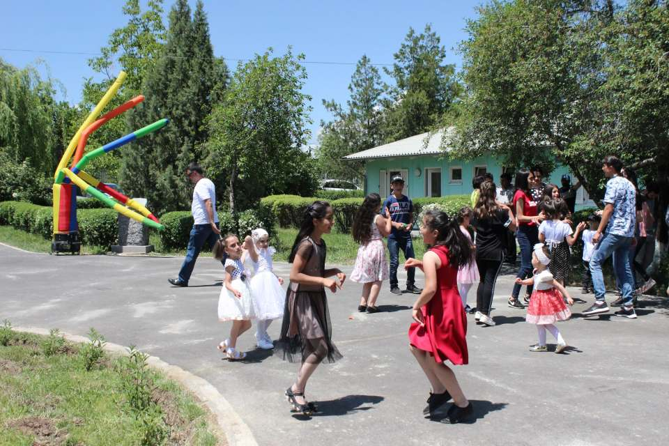 June 1 in SOS Children's Village Kotayk