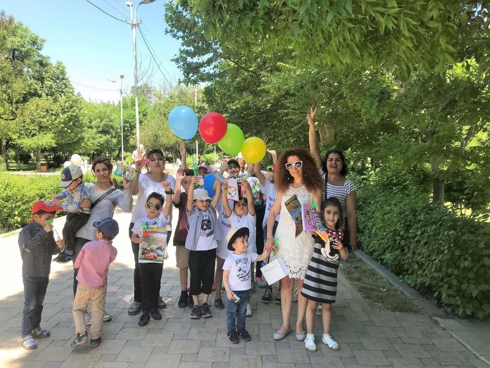 June 1 event in Arabkir administrative district