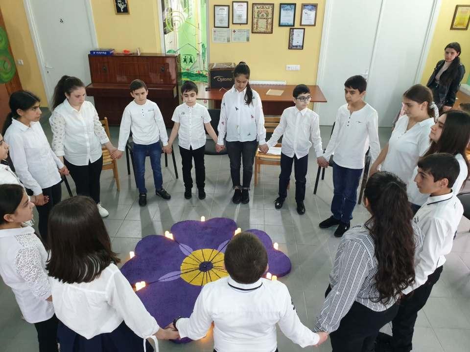 Հայոց մեծ եղեռնի զոհերի հիշատակին նվիրված միջոցառում