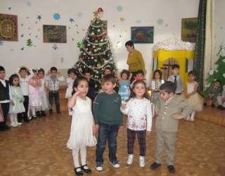 Կոտայքի ՍՕՍ Մանկական գյուղի երեխաների ամանորյա եռուզեռը