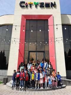 ԼՂ-ից տեղահանված երեխաները այցելում են «Սիթիզեն - մասնագիտությունների մանկական քաղաք»