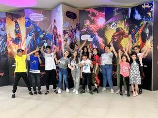 Exhibition-sale at Yeraz Kids Center