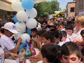 June 1 in Tavush border communities